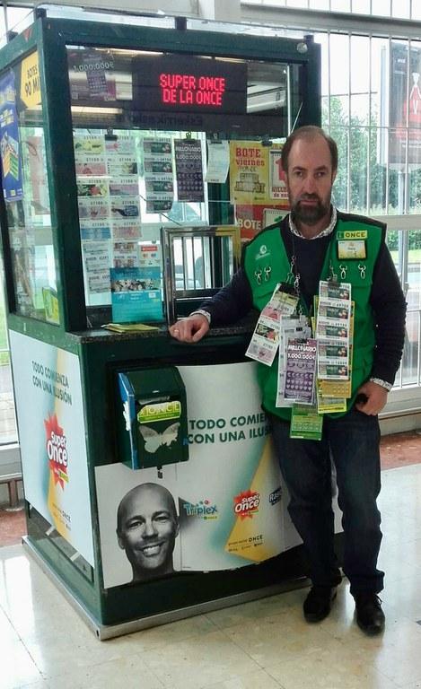 Luis Aurrekoetxea Latartegi, vendedor del Eurojackpot premiado en Erandio