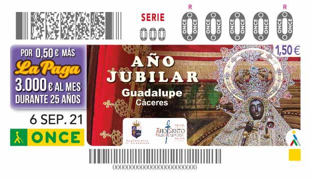 Cupón del 6 de septiembre dedicado al Año Jubilar de Guadalupe