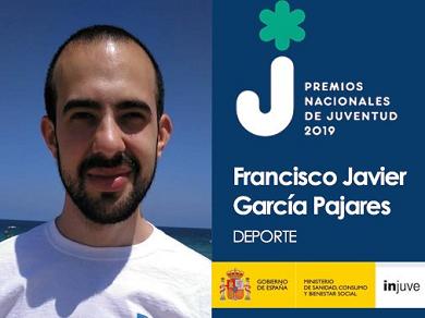 Javier García Pajares, premio Injuve 2019