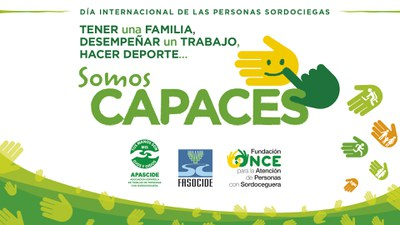 Logo Día Internacional de las Personas con Sordoceguera 2019
