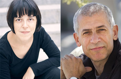 Pilar Adón y José Ovejero