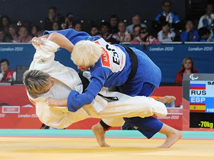 La judoca Carmen Herrera en una imagen de archivo