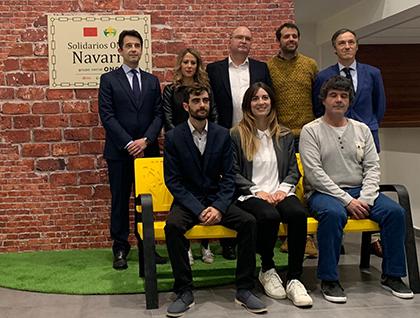 Galardonados con Premios Solidarios ONCE Navarra 2019