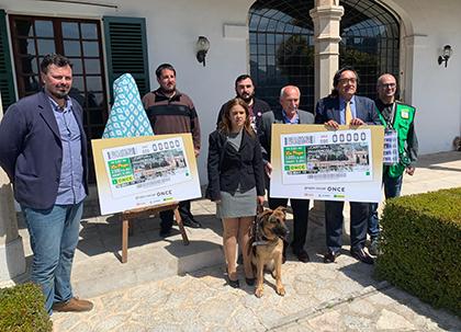 Presentación del cupón de la ONCE dedicado a la Cartuja de Valdemossa 2