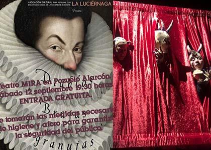 Cartel de la actuación de La Luciérnaga en MIRA Teatro