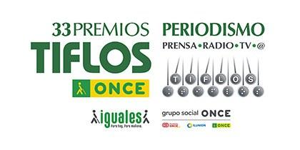 Logotipo Premios Tiflos ONCE 2019