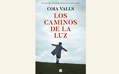 """Portada del libro """"Los caminos de la luz"""" de Coia Valls"""