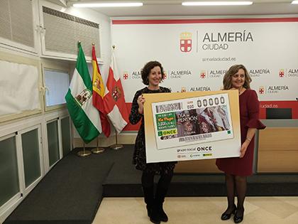 María Jesús Segovia y María Vázquez presentan el cupón