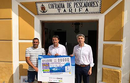 Foto de familia de la presentación del cupón del 15 de julio dedicado al Atún Rojo