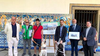 Foto de familia de la presentación del cupón del 5 de septiembre dedicado a la Basílica del Prado de Talavera de la Reina