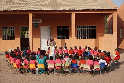 ESCUELA EN GUINEA BISSAU