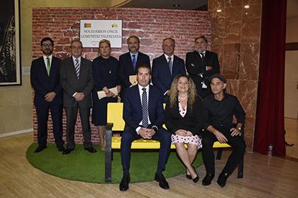 Galardonados con los Premios Solidarios ONCE Comunidad Valenciana 2019