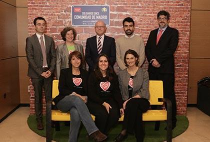 Foto de familia de todos los premiados en los Solidarios Madrid 2019