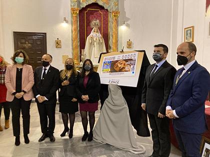 Presentación del cupón dedicado al Cristo de la Buena Muerte de Ayamonte