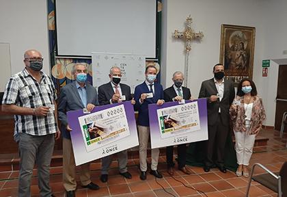 Presentación del cupón dedicado al IV Congreso de Hermandades y Cofradías