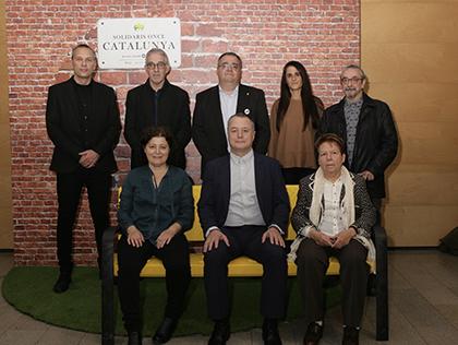 Galardonados con los Premios Solidarios ONCE Catalunya 2019