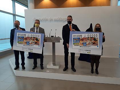 Presentación del cupón dedicado a Sabor a Málaga 2