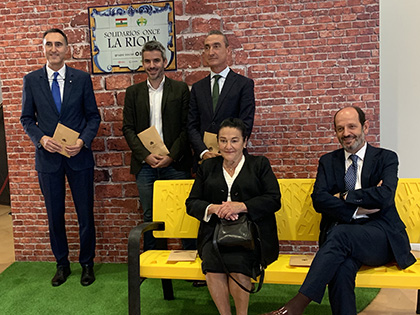 Galardonados con los Premios Solidarios ONCE La Rioja 2019