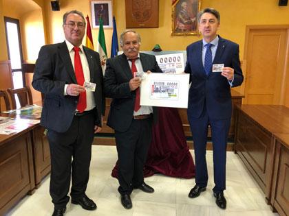 Foto de familia presentación del cupón del 29 de abril dedicado a Prado del Rey