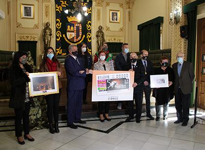Presentación del cupón dedicado a la Procesión de los Penitentes de Jumilla