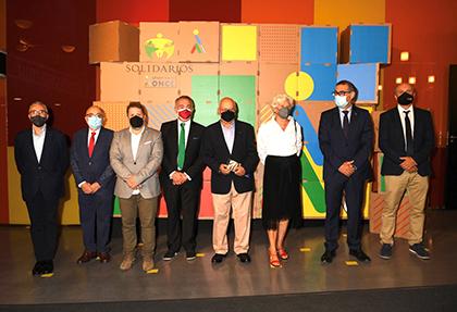Galardonados con los Premios Solidarios ONCE Región de Murcia 2021