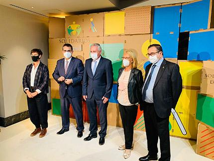 Foto premiados Solidarios ONCE Euskadi