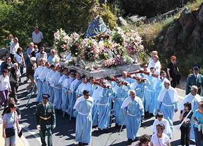 Bajada de la Virgen de la Montaña de Cáceres