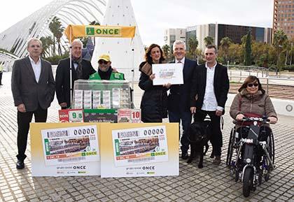 Presentación del cupón dedicado al Maratón Valencia Trinidad Alfonso