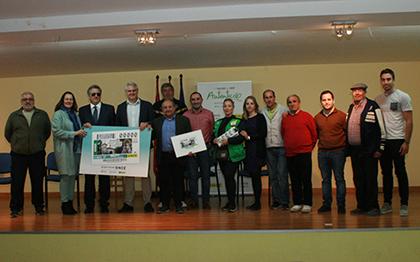 Presentación del cupón de la ONCE dedicado a la Romería de la Virgen del Monte de Albudeite
