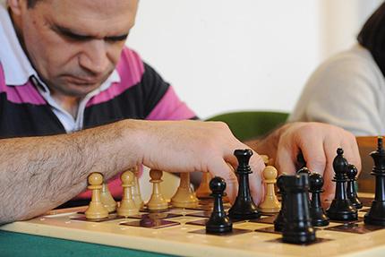 Jugador ciego de ajedrez