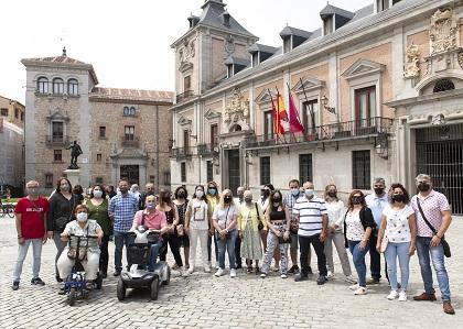 Visita del grupo al Madrid de los Austrias