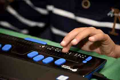 Braille incorporado a nuevas tecnologías