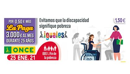Primer cupón de la serie que la ONCE dedica a los ODS