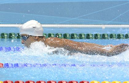 Enhamed Enhamed en una de sus competiciones