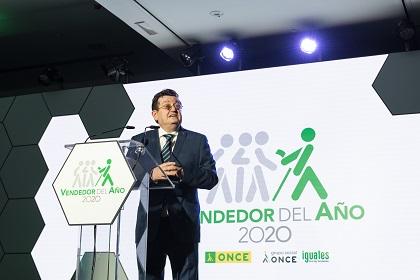 Ángel Sánchez, durante su intervención de bienvenida