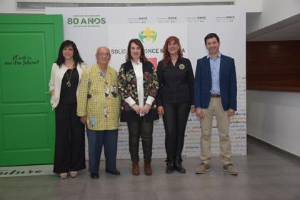 Foto de familia premiados Solidarios ONCE 2018 Navarra