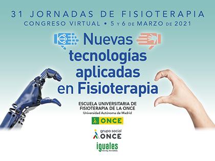 Cartel 31 Jornadas Escuela Universitaria de Fisioterapia de la ONCE