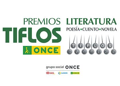Cartel de los Premios Tiflos de Literatura