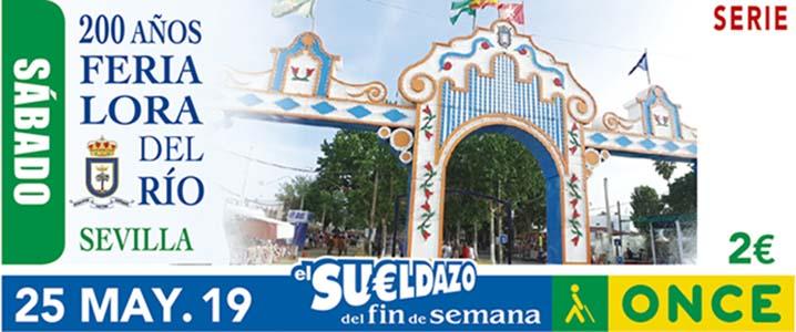 Cupón dedicado a los 200 años de la Feria de Lora