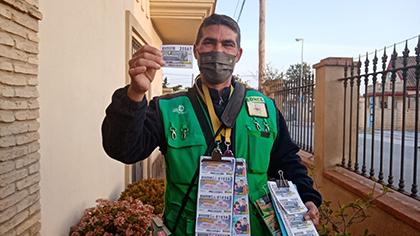 Antonio Sánchez, vendedor que ha dado un Sueldazo en Sanlúcar de Barrameda
