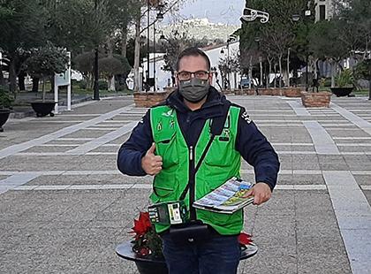 Demetrio Rosillo, vendedor de la ONCE que ha dado un Sueldazo en  Castellar
