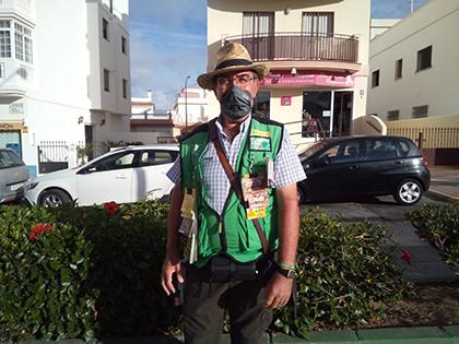Francisco Javier Bernal, vendedor de la ONCE que ha dado un Sueldazo en Rota