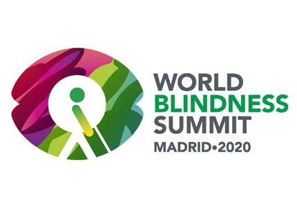 Logotipo de la World Blindness Summit