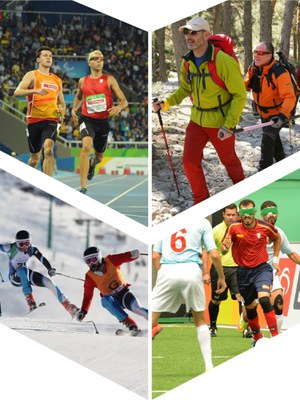 Collage deporte
