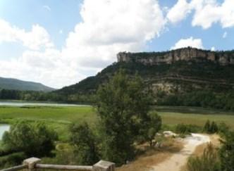 Vista del Parque Natural de la serranía de Cuenca