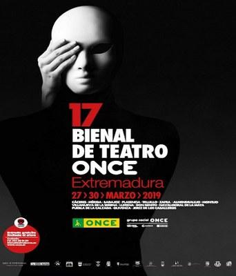 Cartel 17 Bienal Teatro ONCE