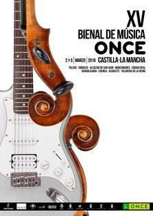 Cartel XV Bienal de Música de la ONCE