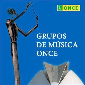 Grupos de música ONCE