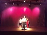 Actores en un momento de la obra