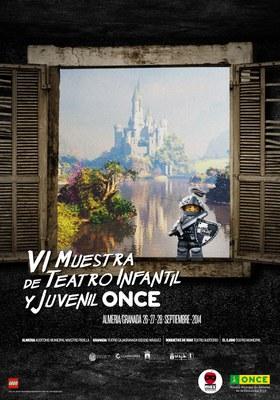 Cartel de la VI Muestra de Teatro Infantil y Juvenil ONCE